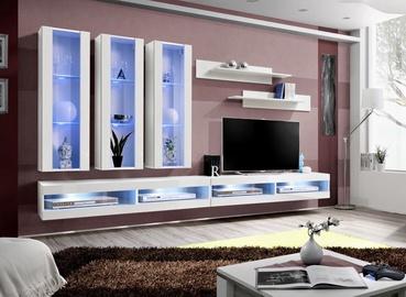 ASM Fly Q8 Living Room Wall Unit Set White