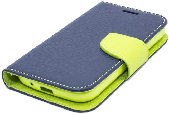 Telone Fancy Diary Bookstand Case For Xiaomi Redmi Note 3 Blue/Light Green