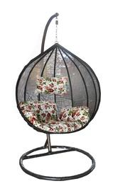 Садовое кресло Besk Bubble 4750959074251, черный/зеленый