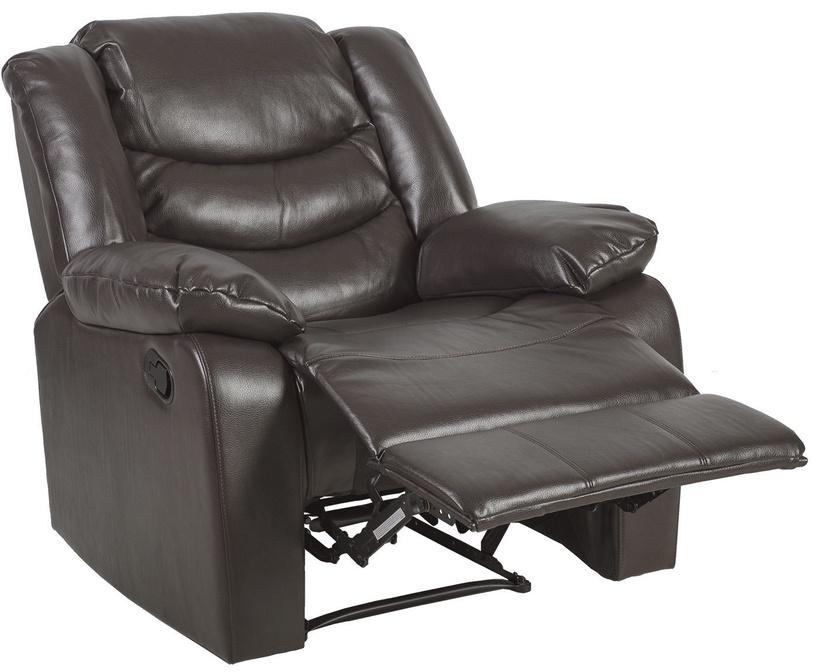 Atzveltnes krēsls Home4you Dixon 21533, pelēka, 95x99x102 cm
