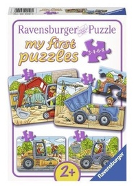 Пазл Ravensburger Mini My First 4 My favorite Construction Vehicles 06946, 20 шт.