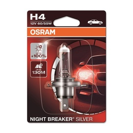 Автомобильная лампочка Osram Night Breaker Silver H4 60/55W 12V