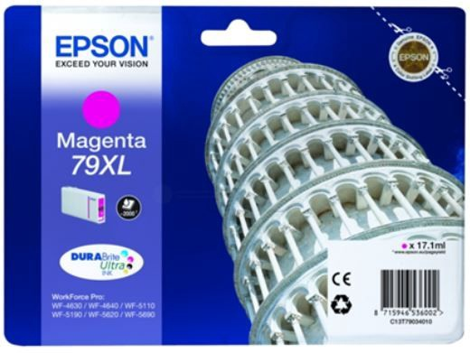Epson 79XL Inkjet Cartridge 41.8ml Magenta