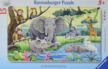 Ravensburger Puzzle Animals Of Africa 15pcs 061365