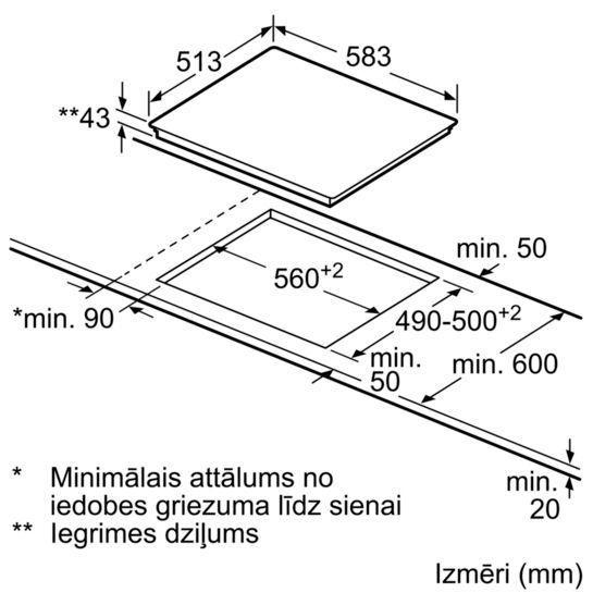 Электрическая плита Siemens iQ300 EA645GN17 (поврежденная упаковка)