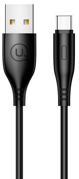 Usams U18 Flexi PVC USB To USB Type-C Cable 1m Black