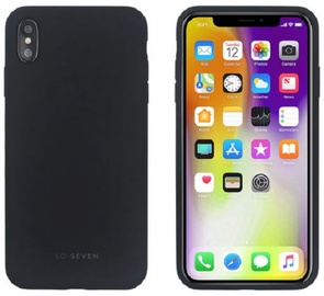 So Soven Smoothie Back Case For Apple iPhone XS Max Black