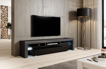 ТВ стол Cama Meble Toro 200, черный/серый, 2000x400x410 мм