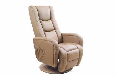 Atzveltnes krēsls Halmar Pulsar Beige, 85x68x85 cm