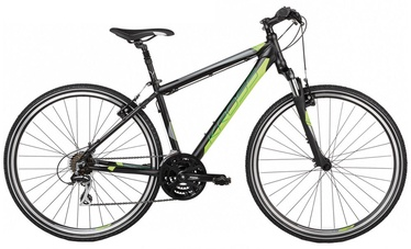 "Kross Evado 2.0 XL 28"" Black Lime Matte 17"
