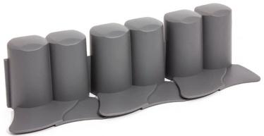 Prosperplast IPAL6 Palisade Grey 8pcs