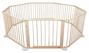 8 Piece Wooden Safety Fence