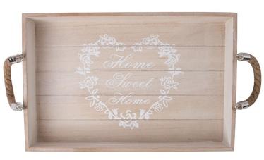 Home4you Jardin-2 Tray Brown Wood