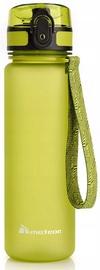 Dzeramā ūdens pudele Meteor 74574, zaļa, 0.5 l