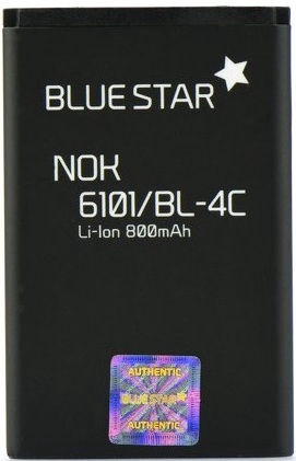BlueStar Battery For Nokia X2/6300 Li-Ion 800mAh Analog