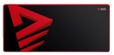 Savio Turbo Dynamic L Gaming Mouse Pad Black/Red