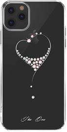 Kingxbar Wish Series Back Case With Swarovski For Apple iPhone 11 Pro Silver