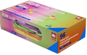Ampri Med Comfort Style Tutti Frutti Nitril Powder Free Gloves 96pcs S