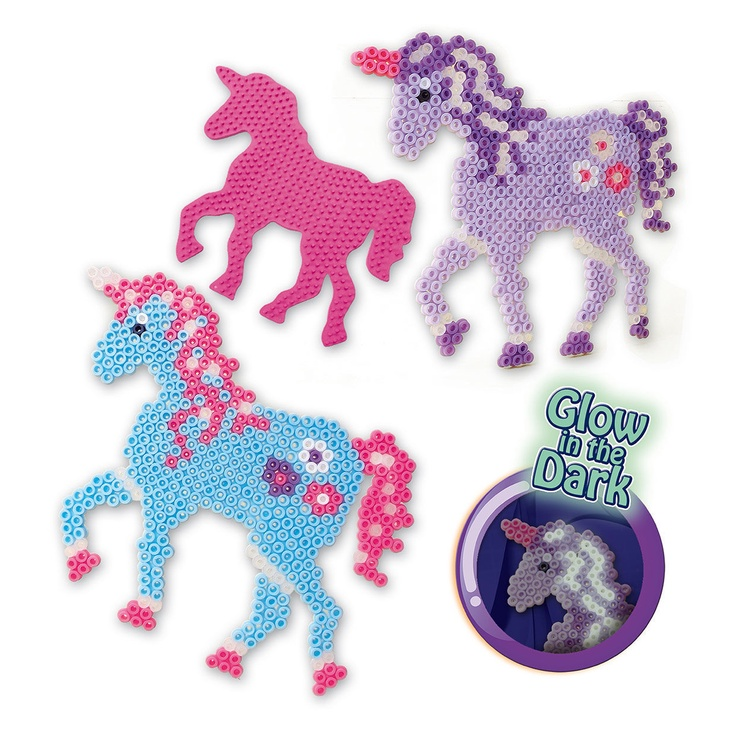 Мозаика SES Creative Beedz Iron On Beads Fantasy Horses 06115S
