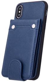 Mocco Smart Wallet Card Holder For Samsung Galaxy J4 Plus J415 Blue