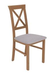 Ēdamistabas krēsls Black Red White Alla 3 Brown/Grey