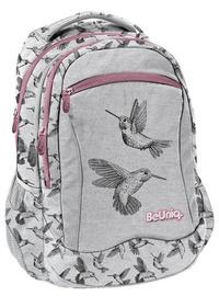 Рюкзак Paso BeUniq Kolibri w/ Pencil Case & Shoe Bag Grey