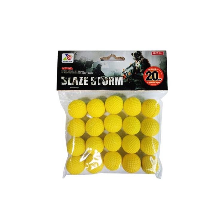 SN Blaze Storm Toy Balls 20pcs ZC05