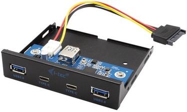 """I-Tec 3.5"""" USB-C / 3.0 Front Panel"""