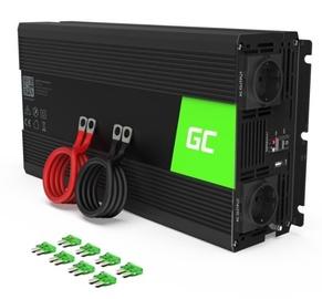Трансформатор напряжения Green Cell Car Power Inverter Converter 12V to 230V 1500W/3000W