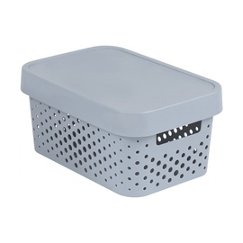 Curver Infinity Perforated Box 4.5l Grey