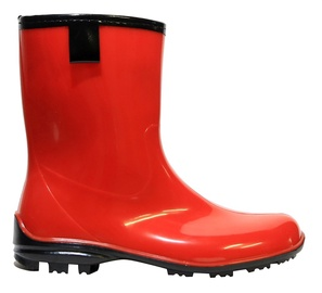 Paliutis PVC Women's Rubber Boots Red 40