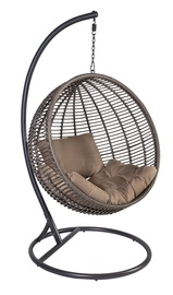 Dārza krēsls Home4you Globe Dark Brown