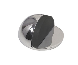 Metal-Bud Door Stopper Chrome