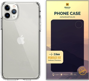 Mocco Original Clear Silicone Case For Apple iPhone 11 Pro Max Transparent 2mm