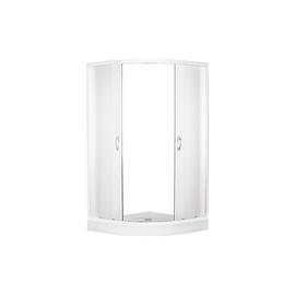 Dušas kabīne Erlit 0509-W3, pusapaļā, 900x900x1950 mm