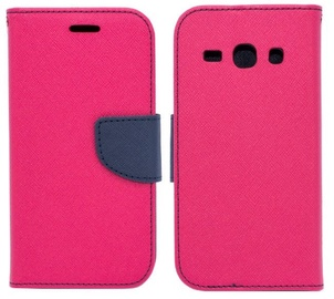 Mocco Fancy Book Case For Samsung Galaxy A6 A600 Pink/Blue