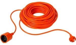 Verners Extension Cord Orange 25m