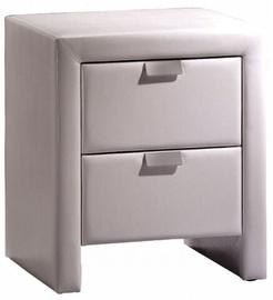 Ночной столик WIPMEB Mito MI8, белый, 47x41x55 см
