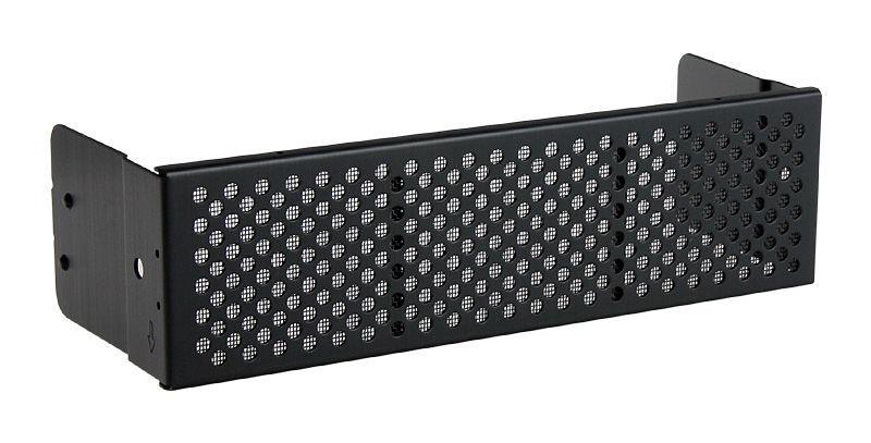 Lian Li BZ-501B Bezels w/ Vent And Dust Filter Black 4pcs