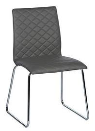 Ēdamistabas krēsls Black Red White Helena Grey