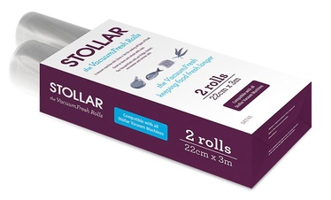 Вакуумные мешки Stollar SAT45, 30 см x 22 см, 2 шт.