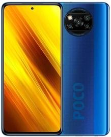 Mobilais telefons Xiaomi Poco X3 NFC, zila, 6GB/64GB