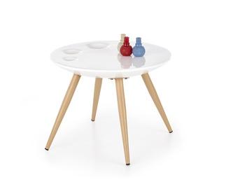 Kafijas galdiņš Halmar Marita White, 600x600x450 mm