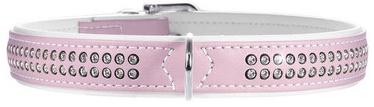 Hunter Collar Modern Art Deluxe 35 Light Pink/White