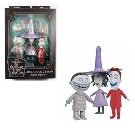 Фигурка-игрушка Diamond Select Toys Nightmare Before Christmas: Series 1 Lock, Shock, Barrel