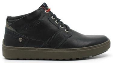 Wrangler Historic Desert Leather Autumn Boots Navy 45
