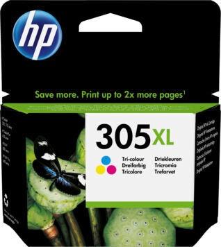 HP 305XL Tri-Color