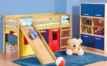 Divstāvīga gulta Halmar Neo Plus, priežu, 197x89 cm
