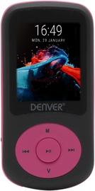 Музыкальный проигрыватель Denver MPG-4094NR Pink, 4 ГБ