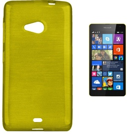 Forcell Jelly Brush Back Case For Microsoft 535 Lumia Green